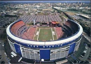 Shea Stadium Football ...